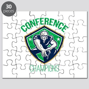 American Football Snap Conference Champions Puzzle