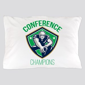 American Football Snap Conference Champions Pillow