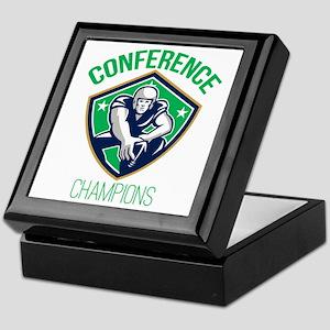 American Football Snap Conference Champions Keepsa