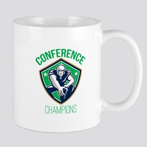 American Football Snap Conference Champions Mugs
