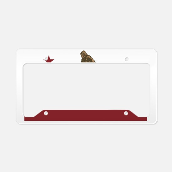 Northern California Bigfoot License Plate Holder