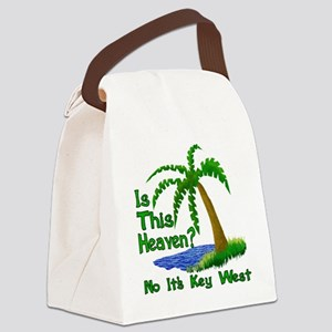 Is This Heaven? Canvas Lunch Bag