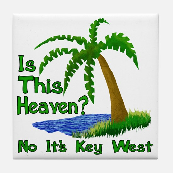 Is This Heaven? Tile Coaster