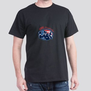 Quarterback State Championships Retro T-Shirt