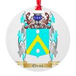 Edema Round Ornament