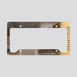 The Last Supper Historical License Plate Holder