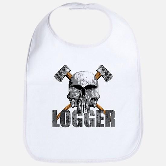 Logger Skull Bib