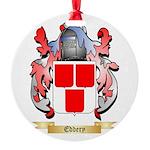 Eddery Round Ornament