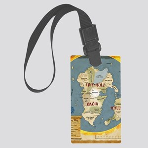 Within the Ring of Fire - Clipbo Large Luggage Tag