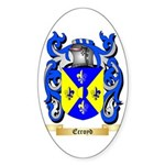Ecroyd Sticker (Oval 10 pk)