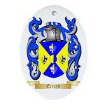 Ecroyd Ornament (Oval)