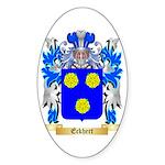 Eckhert Sticker (Oval)