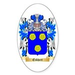 Eckhert Sticker (Oval 50 pk)