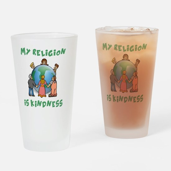 My Religion is Kindness - Dalai Lam Drinking Glass