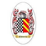 Echeveria Sticker (Oval 10 pk)