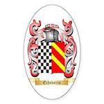 Echeveria Sticker (Oval 50 pk)