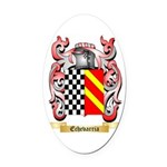 Echevarria Oval Car Magnet