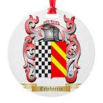 Echeberria Round Ornament