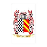 Echeberria Sticker (Rectangle 50 pk)