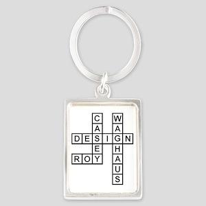 CASEY ROY DESIGN Portrait Keychain