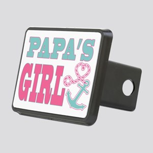 Papas Girl Boat Anchor and Rectangular Hitch Cover