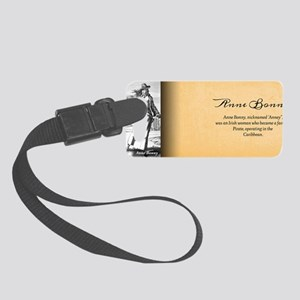 Anne Bonny Historical Small Luggage Tag
