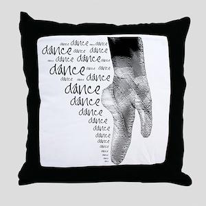 dance dance dance 2 Throw Pillow
