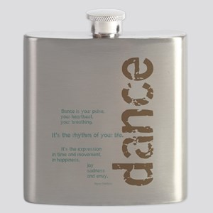 Dance the Rhythm of your Life Flask