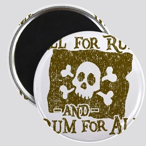 All For Rum Magnet