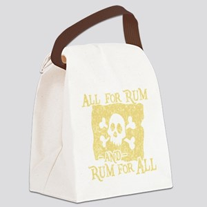 Rum For All Canvas Lunch Bag