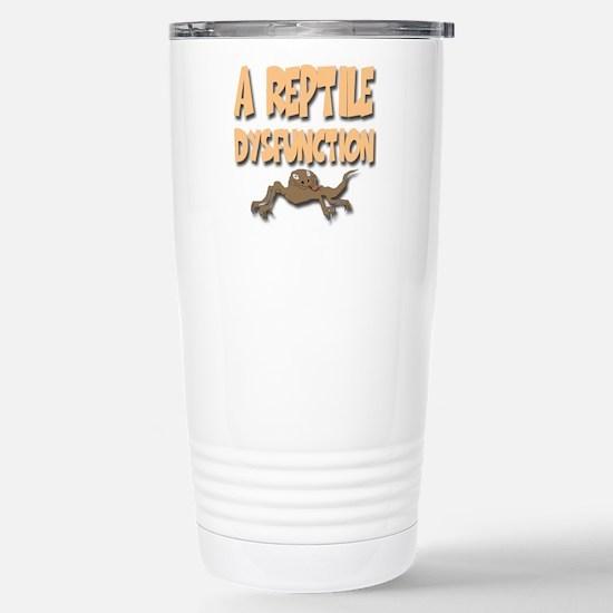 A Reptile Dysfunction Travel Mug