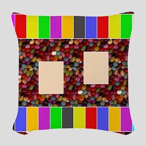 GenericGameBoard Woven Throw Pillow