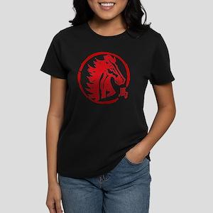 horseA63light6inches Women's Dark T-Shirt