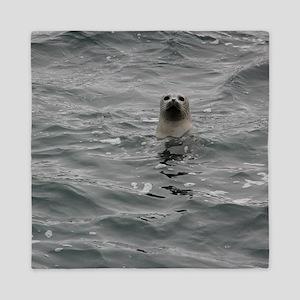 Harbor Seal Queen Duvet