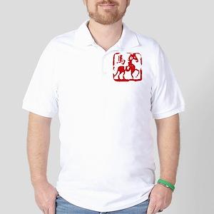 horseA59dark Golf Shirt