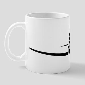 T-6 Black Mug