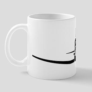 T-6 Shrunk Front Mug