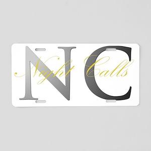 J.C. Valentine  Aluminum License Plate