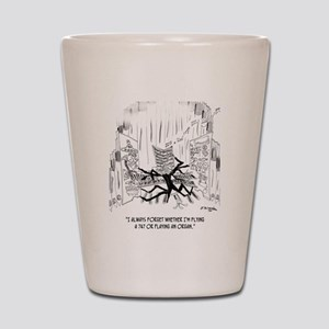 Playing an Organ or Flying a 747? Shot Glass