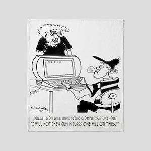 Print Out 1 Million Times ... Throw Blanket