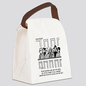 Juror Sells 11 Magazine Subscript Canvas Lunch Bag