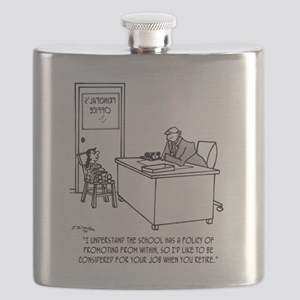 Kid Applies To Be Principal Flask