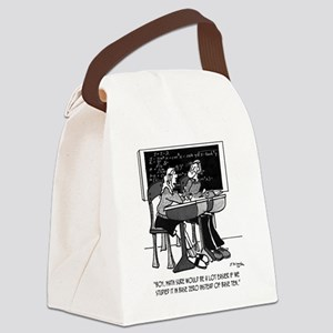 Math in Base Zero Canvas Lunch Bag