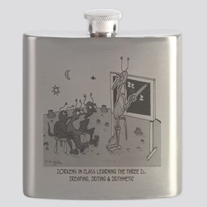 The Three Zs Flask