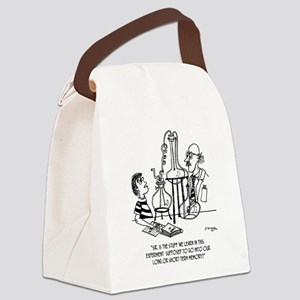 Use Long or Short Term Memory Canvas Lunch Bag