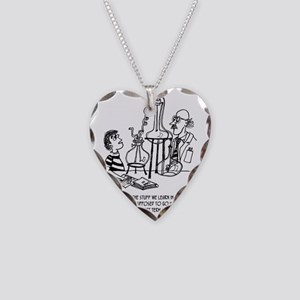 Use Long or Short Term Memory Necklace Heart Charm
