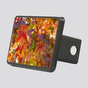 Autumn Leaves 97M Red Colo Rectangular Hitch Cover