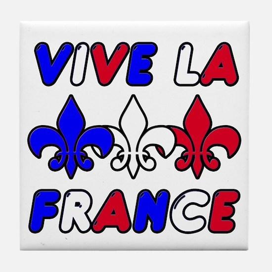 Vive La France Tile Coaster