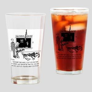 Vaporize Substitute-Teachers Drinking Glass