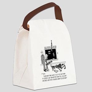 Vaporize Substitute-Teachers Canvas Lunch Bag